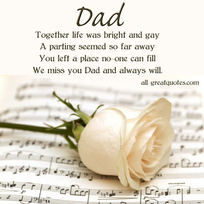 Quotes About Memory Of Father 61 Quotes