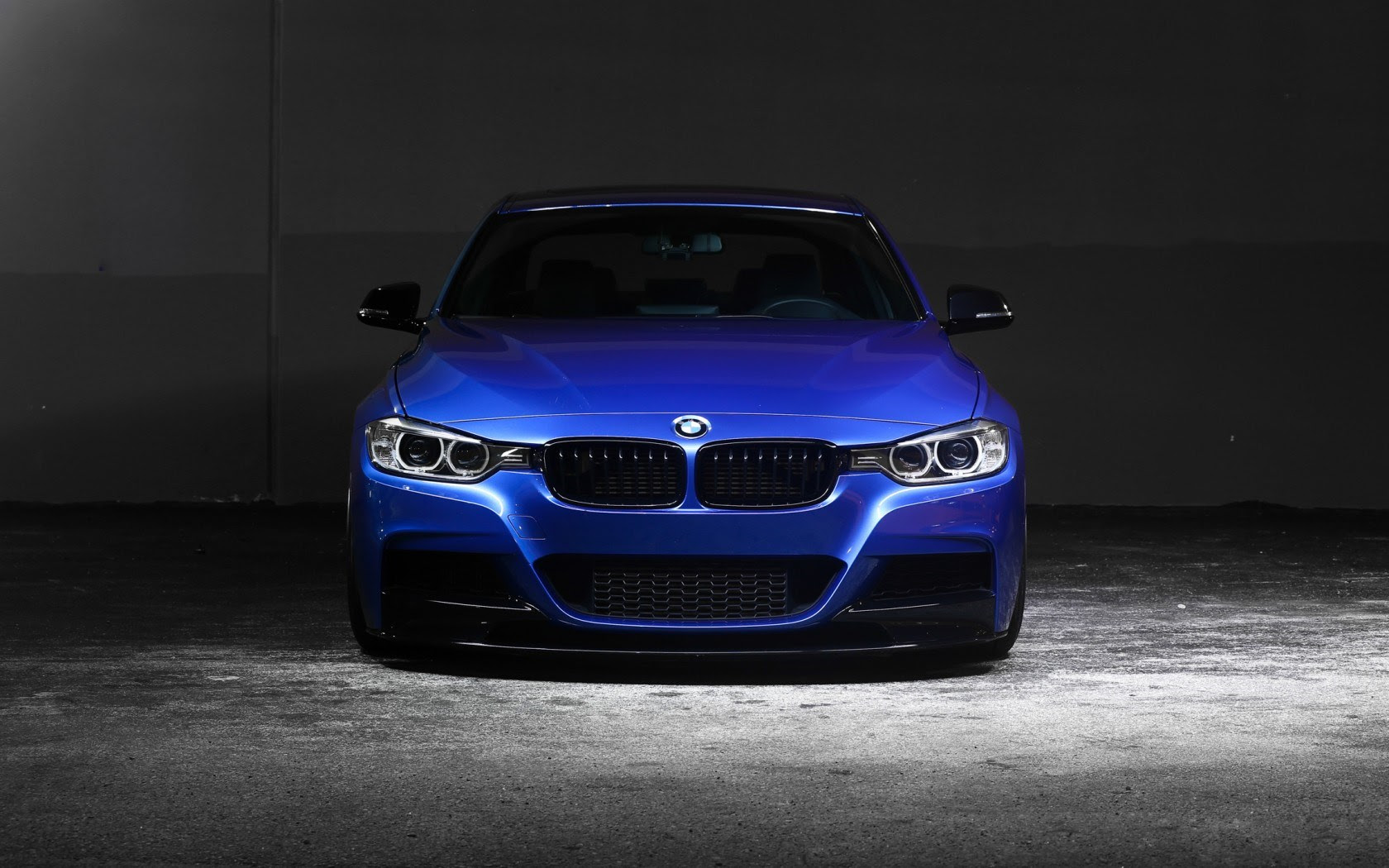 Bmw 335i F30 Car Blue Side Night Hd Wallpaper Pack Wallpapers