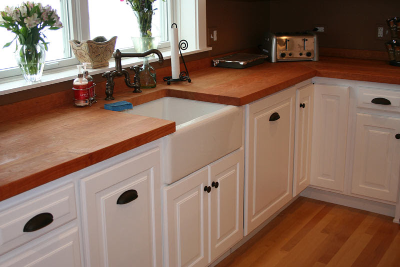 Wood Kitchen Countertops | Wooden kitchen countertops, Countertop ...