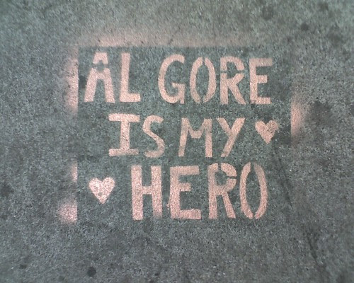 Al Gore is my hero