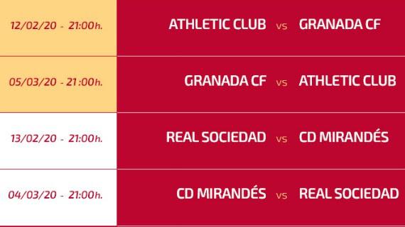 Copa del Rey Semi Final Draw 2020 Result- Real Sociedad vs ...