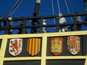 Detall nau Victòria 1 - Port San Julià, Patagònia Argentina