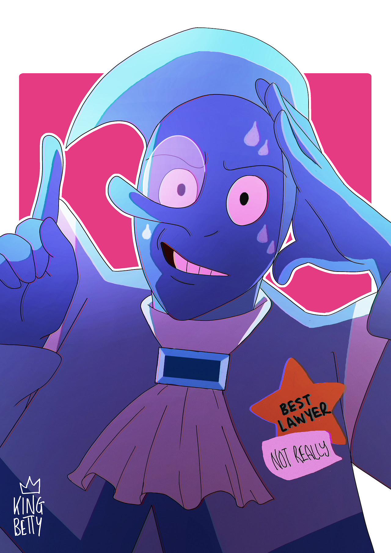 someone requested more blue zircon, so heres the nervous bae ;)
