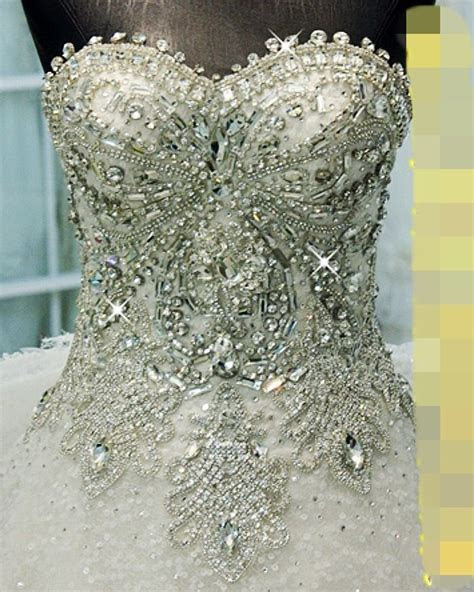 Bling wedding dress   Wedding   Pinterest   Beautiful