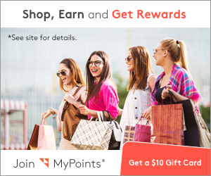Shop online, earn gift cards!