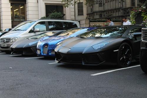 les voitures des riches