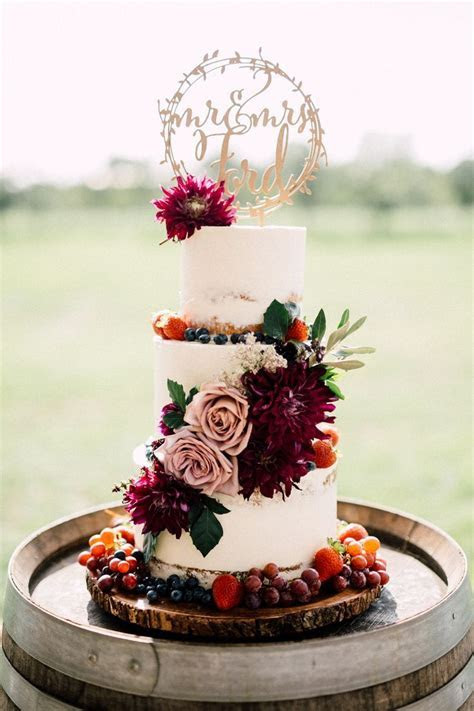 Wedding Cakes: a collection of ideas to try about Weddings