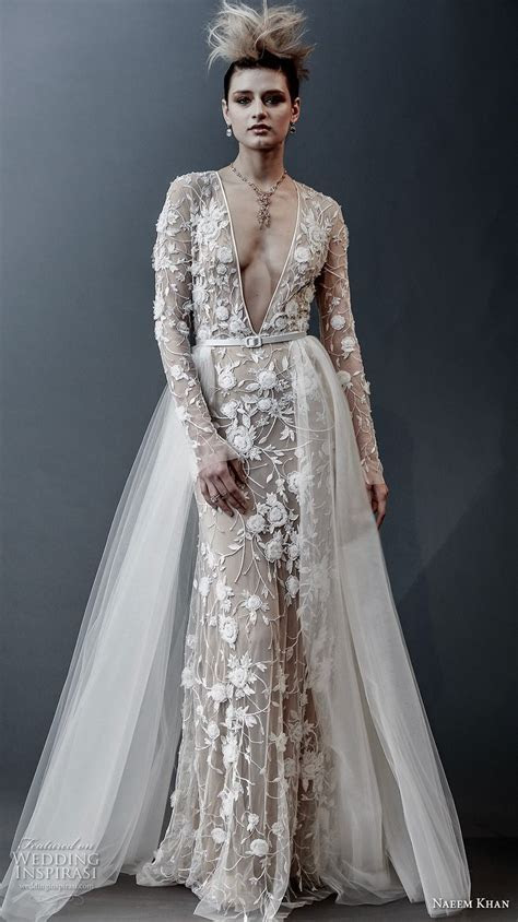 Naeem Khan Spring 2019 Wedding Dresses   Wedding Inspirasi