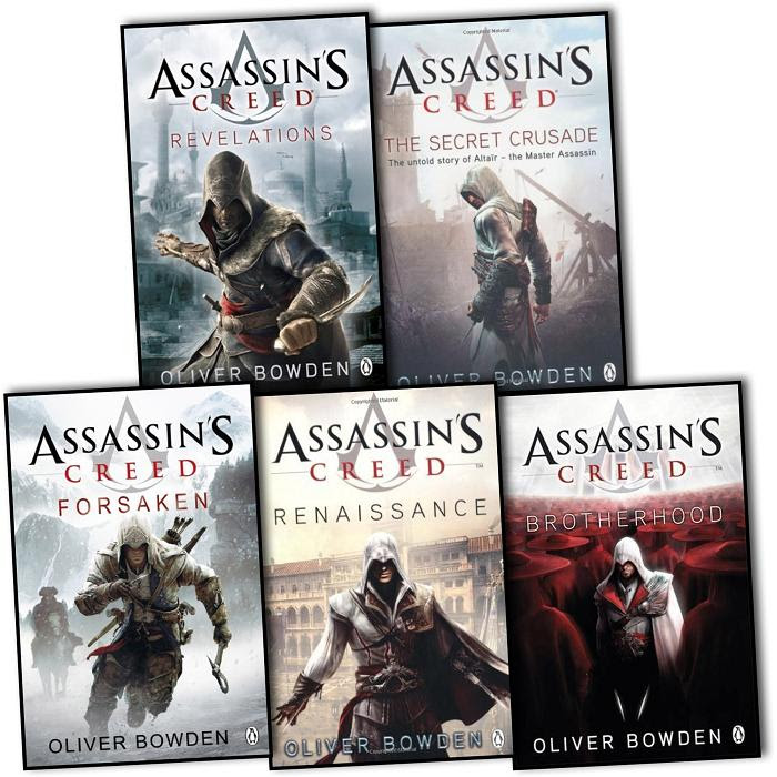 Oliver Bowden Assassins Creed Collection 5 Books Set