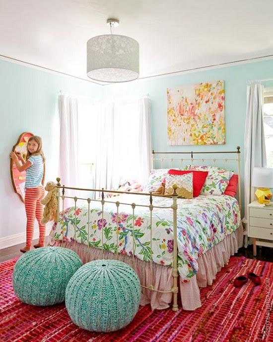 12 Desain Kamar Tidur Anak Perempuan Sederhana