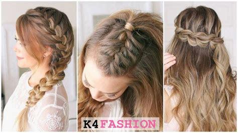 quick  easy french braid hairstyles  girls  fashion