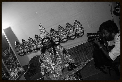 Satish Malavade Shoots Ravan And I Shoot Them Both by firoze shakir photographerno1