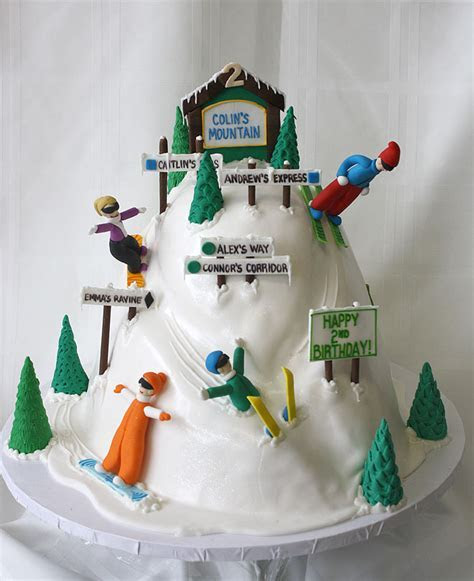 Ski Mountain Cake by CakeSuite, serving Connecticut and
