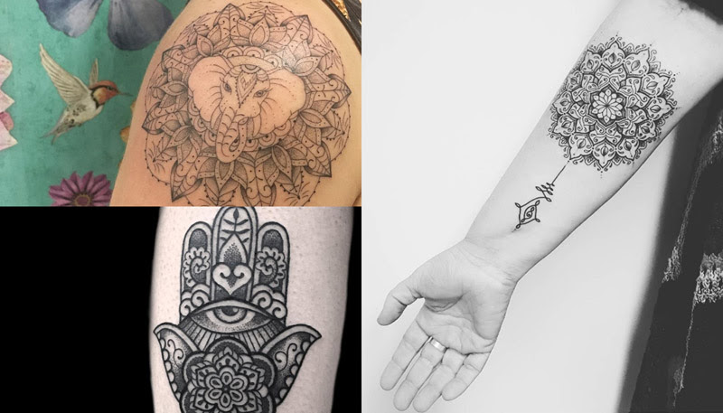 Estilo E Beleza Na Tatuagem De Mandala Amo Tatuagem
