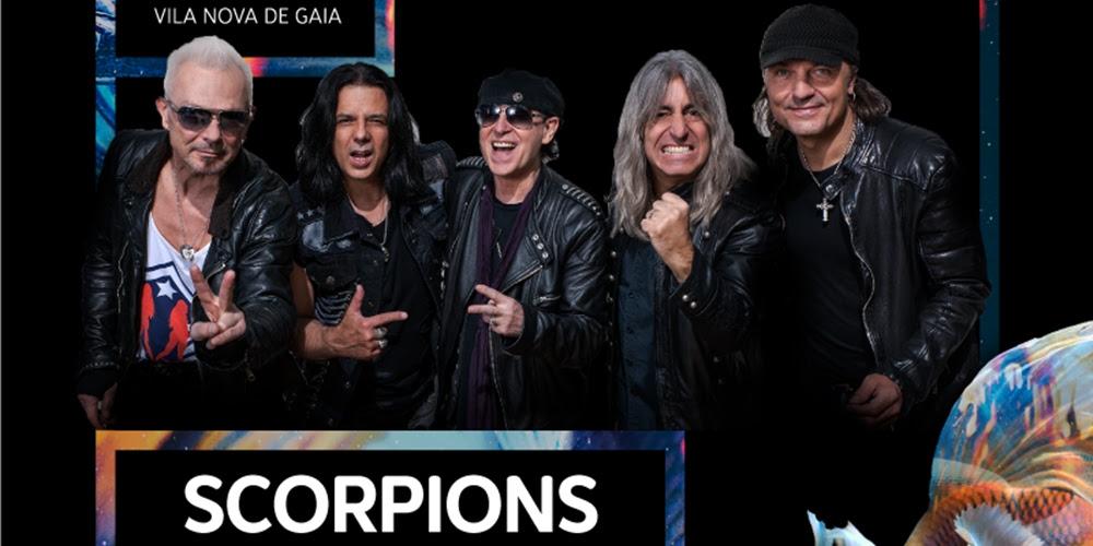 Resultado de imagem para Scorpions portugal