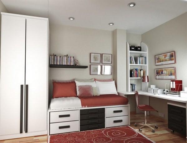 Small teenage bedroom decorating ideas - Interior Design ...