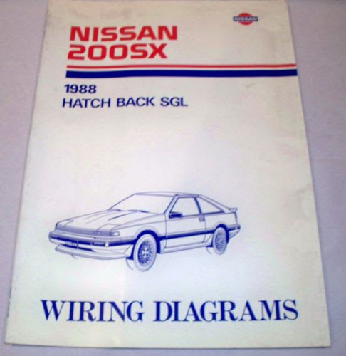Find 1988 88 NISSAN 200SX / 200 SX Electrical Wiring ...