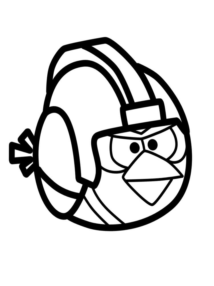 Imprimir Dibujos Para Colorear Angry Birds Para Niños Y Niñas