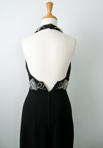 Vintage dress back