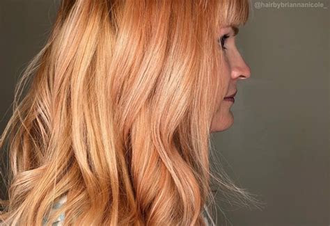 strawberry blonde hair colors trending