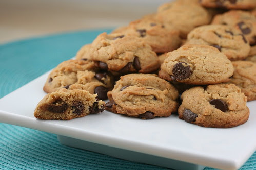 Peanut Butter-Chocolate Chunk Cookies