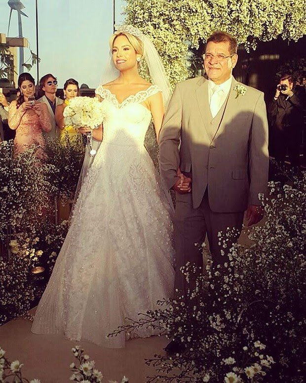 Casamento Wesley Safadão e Thyane  (Foto: Instagram / Reprodução)