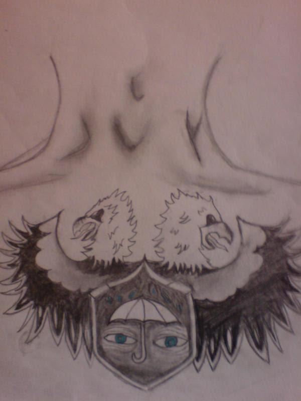Gallows Singer- Chestpiece - chest tattoo