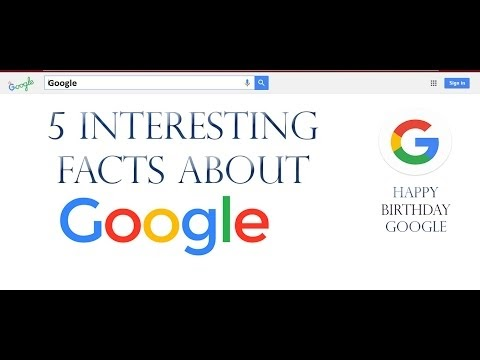 5 Interesting Facts about Google