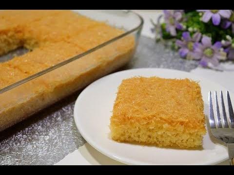 كيكة الشعيرية /كيكة هشة ولذيذة وبطريقة سهلة وسريعة والطعم رهييب