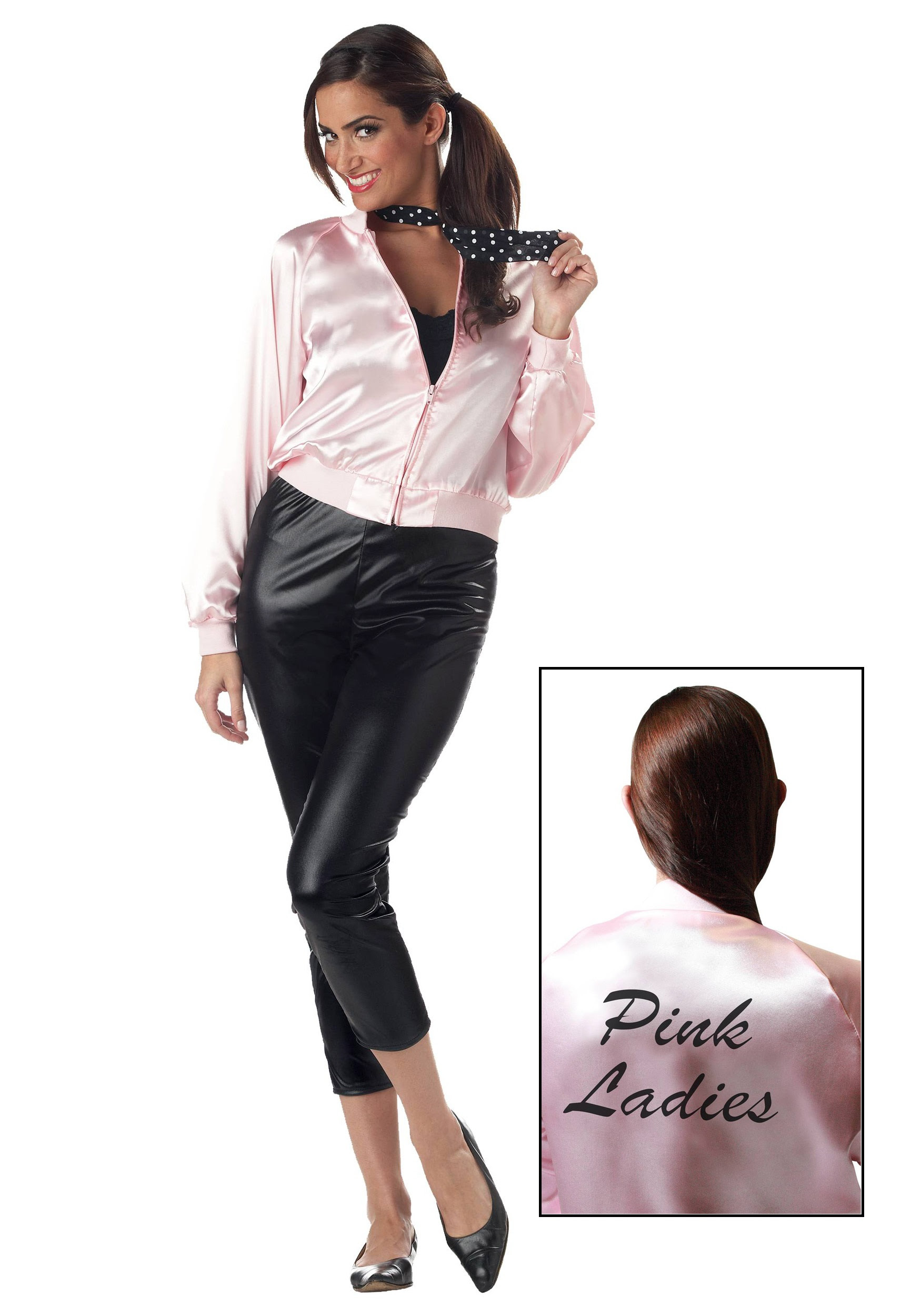 Adult Pink Ladies Jacket Halloween Costume Ideas 2018