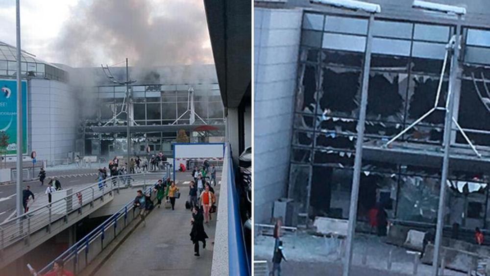 Risultati immagini per attacco all'aeroporto Bruxelles