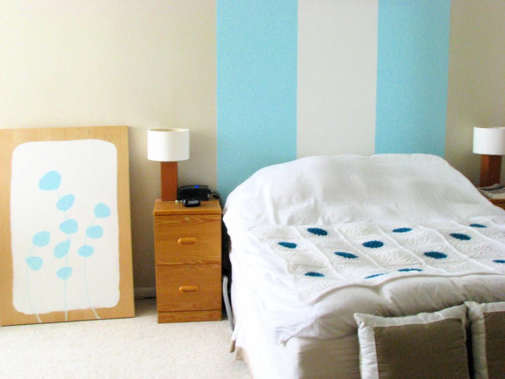 crochet blanket white turquoise 2