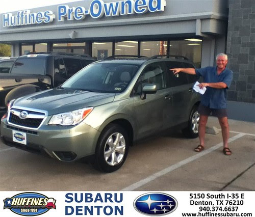 DeliveryMaxx would like to say Congratulations to Mike Bresnahan of Huffines Subaru Denton on an excellent use of our program by DeliveryMaxx