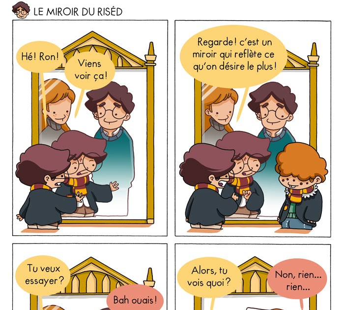 Poudlard at hogwarts harry potter parody le miroir for Miroir harry potter