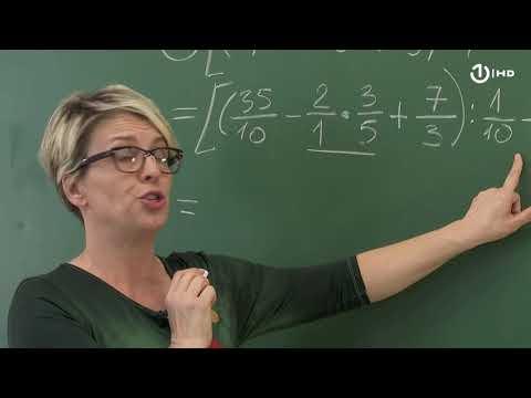 Domaća zadaća za 7. razred: Matematika - Izrazi sa racionalnim brojevima