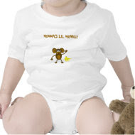 Momma's Lil Monkey Onesie shirt