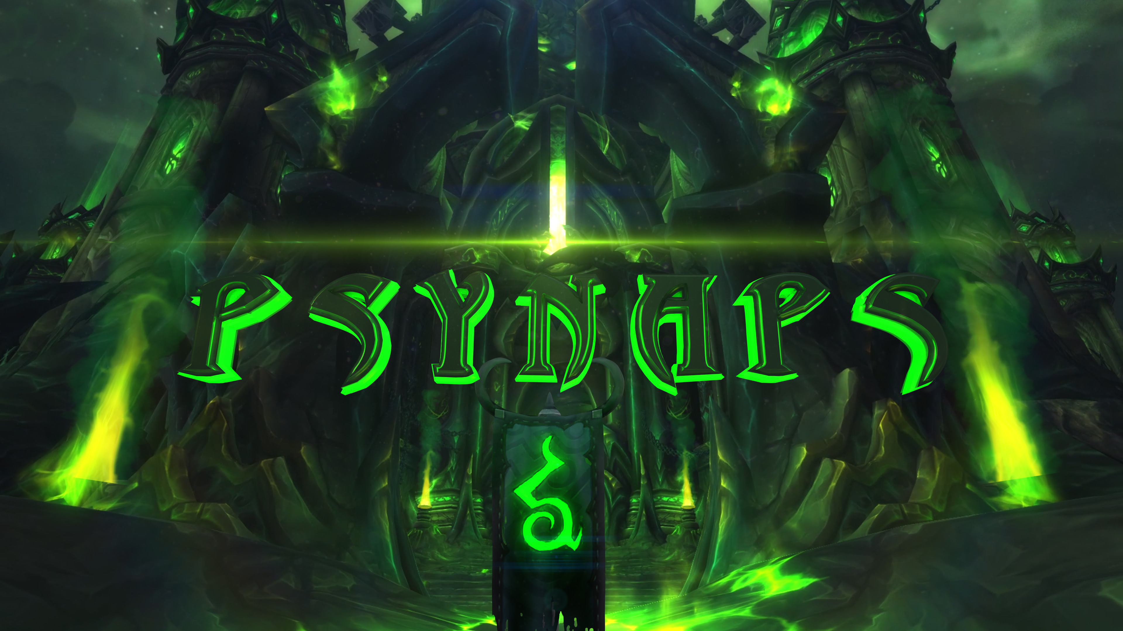 Wow Legion 4k Wallpaper By Psynaps Psynaptic Media By Psynaps