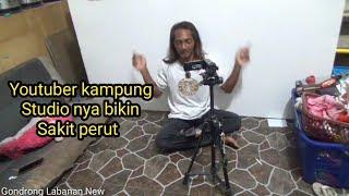 Youtuber Gondrong Labanan
