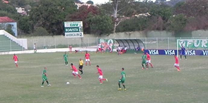 Boavista x América-RN (Foto: Chandy Teixeira)
