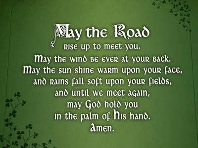 When is Saint Patrick's Day, Inspirational Irish Blessings