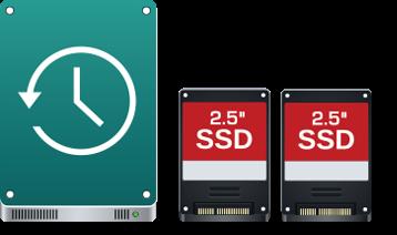 Unidad de disco duro y SSD