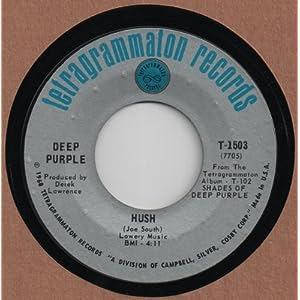 DEEP PURPLE - HUSH 45 RPM