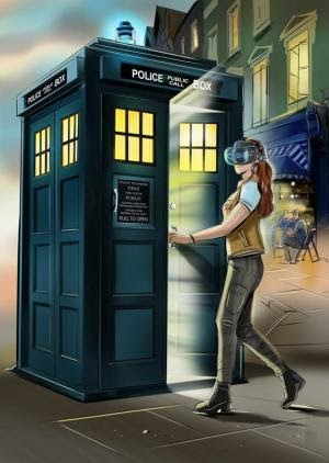Doctor Who News: Step into the Doctor's TARDIS with the new VIVE Cosmos