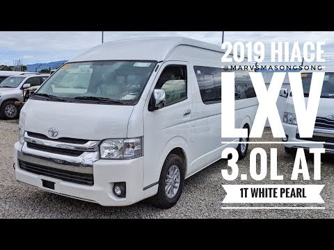 VIDEO: Toyota HIACE LXV 3.0L AT | 1Tone White Pearl (Philippines) | Video by Marvin Masongsong