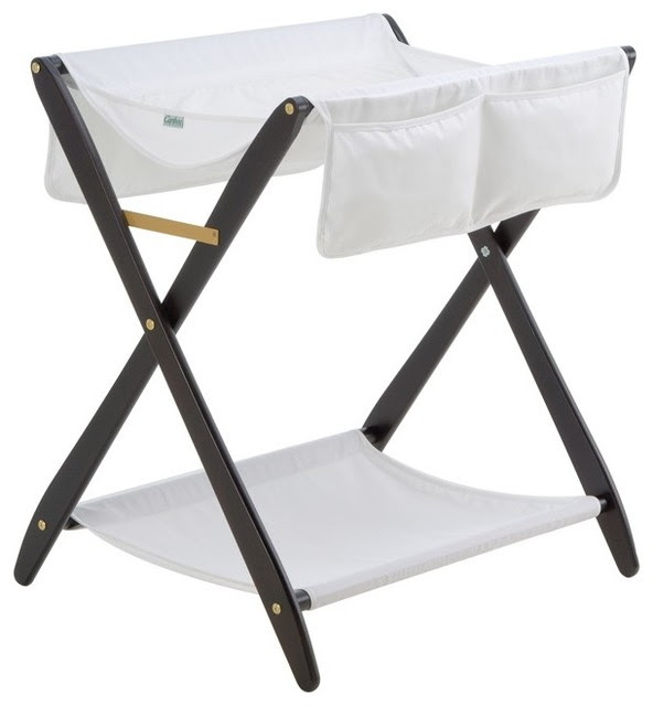 Cariboo Folding Change Table - modern - baby swings and bouncers ...