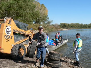 Kansas City Missouri River Clean-up 10-20-12