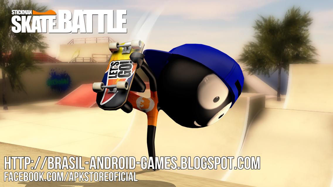Download Stickman Skate Battle v1.2.5 APK - Jogos Android