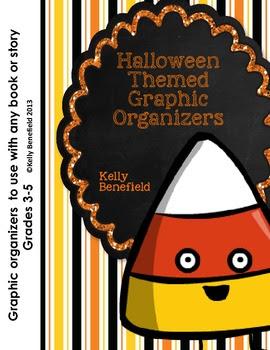 Halloween Themed Graphic Organizers