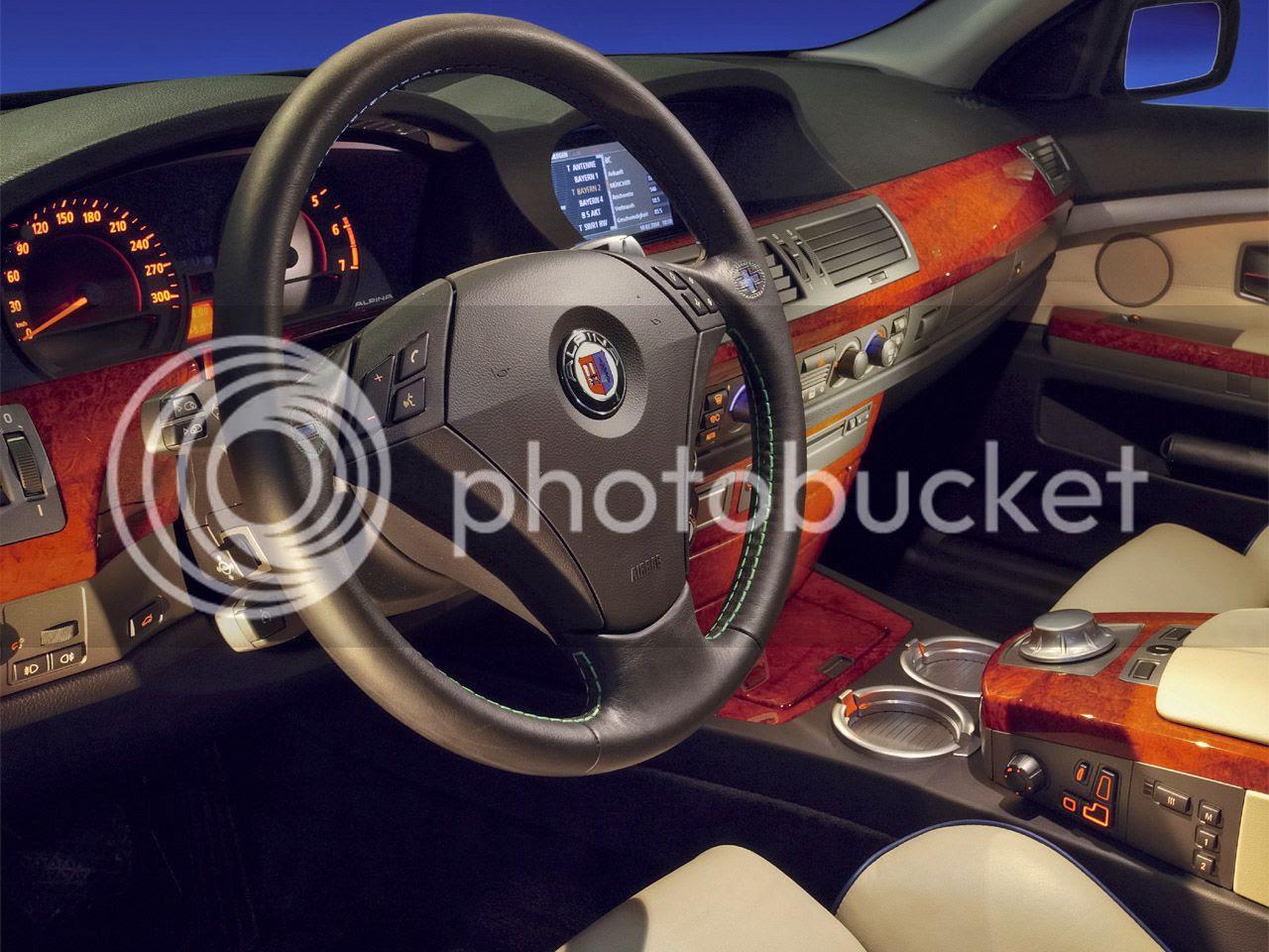 Alpina B7 Wheels. BMW Alpina B7