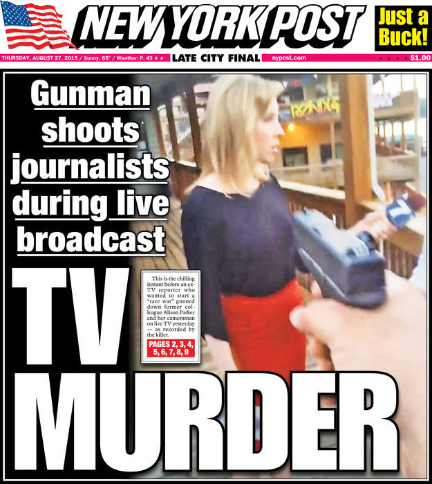 Newspapers Spark Outrage With Front Page Coverage Of TV Journalist ...